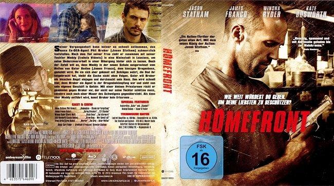 Homefront Cover Bluray German Deutsch german blu ray cover