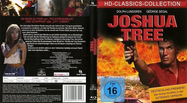 Cover Blu ray German Deutsch Joshua Tree Barret Das Gesetz der Rache Dolph Lundgren german blu ray cover