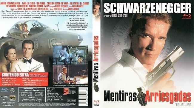 True Lies Wahre Luegen Mentiras Arriesgadas Cover spanisch Blu ray german blu ray cover