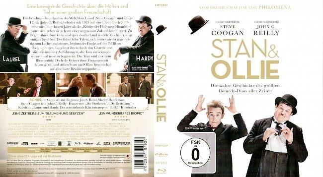 Stan and Ollie Blu ray Cover German Deutsch german blu ray cover