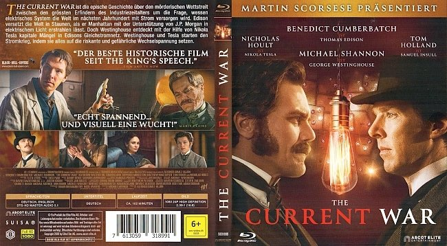 The Current War Blu ray Cover German Deutsch german blu ray cover