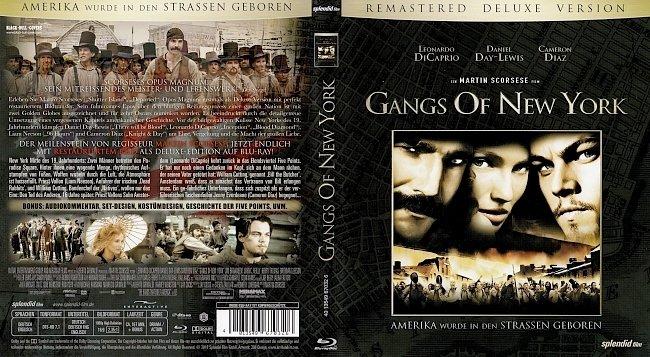Gangs Of New York Blu ray Cover German Deutsch german blu ray cover