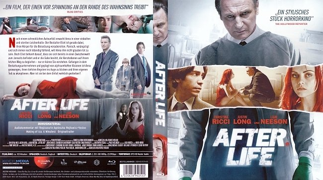 After Life Bluray Cover German german blu ray cover