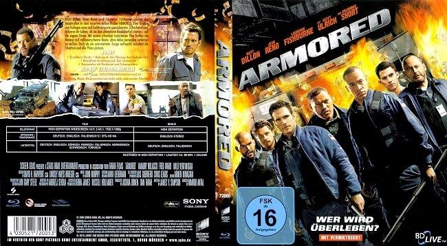 Armored wer wird ueberleben Blu ray Cover German Deutsch german blu ray cover
