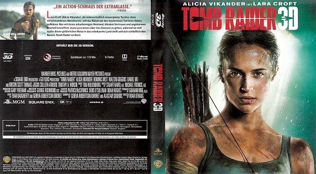 Tomb Raider 3D Bluray Cover German Deutsch german blu ray cover