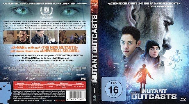 Mutant Outcasts Blu ray Cover German Deutsch german blu ray cover