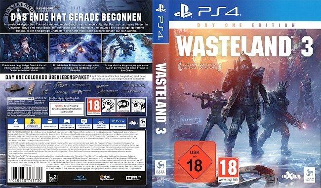 Wasteland 3 PS4 Deutsch German Covers Games german ps4 cover